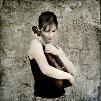 Lisa Batiashvili med sin Stradivarius